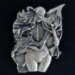 Beksinski inspired pendant