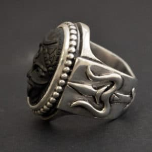 Kali and Trishula ring