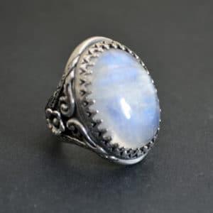 Bespoke Moonstone Ring